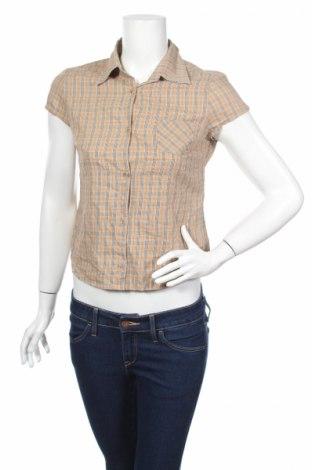Дамска риза, Размер S, Цвят Бежов, 100% памук, Цена 5,25лв.
