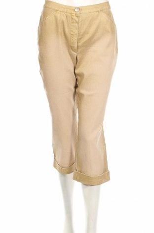 Дамски дънки PLOUMANAC'H, Размер XS, Цвят Златист, 98% памук, 2% еластан, Цена 6,48лв.