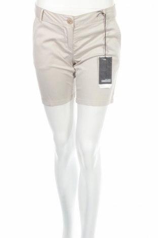 Дамски къс панталон Bomboogie, Размер S, Цвят Сив, 97% памук, 3% еластан, Цена 12,00лв.