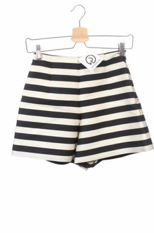 Pantaloni scurți de femei Moncler, Mărime M, Culoare Ecru, 88% poliester, 12% mătase, Preț 566,05 Lei