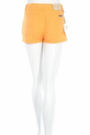 Дамски къс панталон PLOUMANAC'H, Размер XXS, Цвят Оранжев, 97% памук, 3% еластан, Цена 16,90лв.