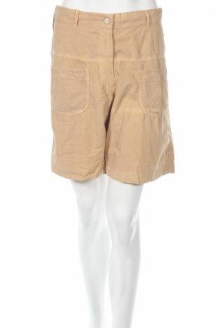 Дамски къс панталон PLOUMANAC'H, Размер M, Цвят Бежов, Памук, Цена 23,40лв.