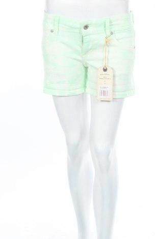 Dámske kraťasy  Pepe Jeans, Veľkosť M, Farba Zelená, 99% bavlna, 1% elastan, Cena  14,46€