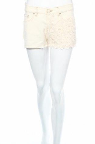 Дамски къс панталон Pinko Tag, Размер S, Цвят Бежов, Памук, Цена 74,40лв.