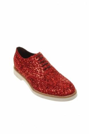 Дамски обувки Doucal's, Размер 36, Цвят Червен, Текстил, Цена 78,20лв.