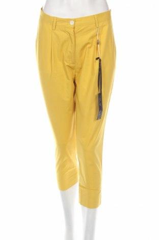 Dámske nohavice Brian Dales, Veľkosť M, Farba Žltá, 100% bavlna, Cena  35,83€