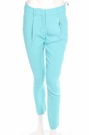 Γυναικείο παντελόνι Fausto Puglisi, Μέγεθος S, Χρώμα Μπλέ, 71% ασετάτ, 29% βισκόζη, Τιμή 79,77€