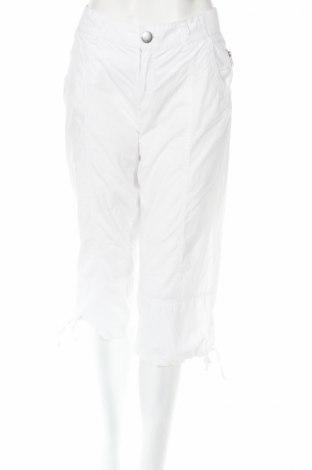 Дамски панталон H&M Divided, Размер M, Цвят Бял, Памук, Цена 6,40лв.