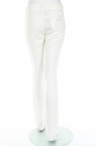 Γυναικείο παντελόνι Just Cavalli, Μέγεθος M, Χρώμα Λευκό, Λινό, Τιμή 71,51€