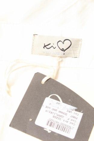 Дамски панталон Ki6? Who Are You?, Размер S, Цвят Бял, Памук, Цена 64,50лв.