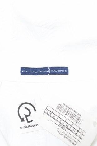 Дамски панталон PLOUMANAC'H, Размер M, Цвят Бял, 80% памук, 17% вискоза, 3% еластан, Цена 17,37лв.