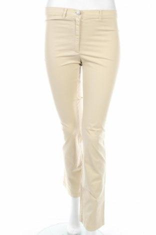 Дамски панталон PLOUMANAC'H, Размер XS, Цвят Бежов, 98% памук, 2% еластан, Цена 18,72лв.