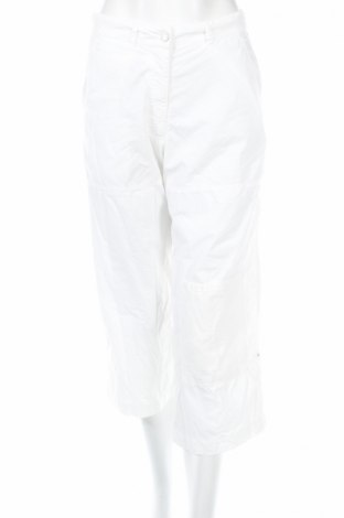 Дамски панталон PLOUMANAC'H, Размер S, Цвят Бял, Памук, Цена 17,68лв.
