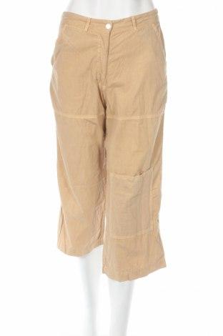 Дамски панталон PLOUMANAC'H, Размер XS, Цвят Бежов, 100% памук, Цена 7,22лв.