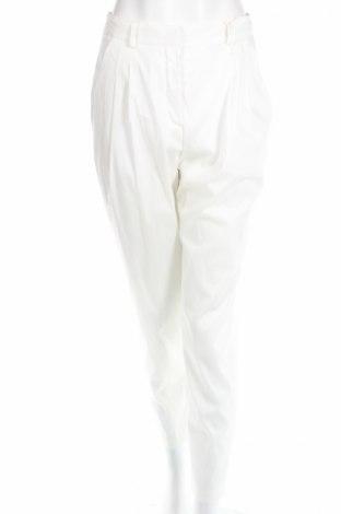 Дамски панталон Paola Frani, Размер XS, Цвят Бял, 68% памук, 26% полиамид, 6% еластан, Цена 264,00лв.