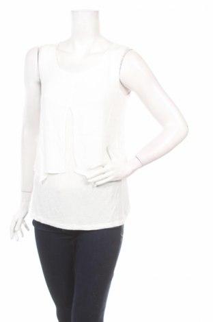 Γυναικείο αμάνικο μπλουζάκι Ab Studio, Μέγεθος M, Χρώμα Λευκό, 100% βισκόζη, Τιμή 3,47€