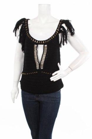 Дамски потник Alberta Ferretti, Размер M, Цвят Черен, 100% памук, Цена 89,85лв.