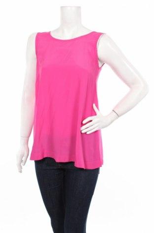 Γυναικείο αμάνικο μπλουζάκι Atos Lombardini, Μέγεθος S, Χρώμα Ρόζ , 76% ασετάτ, 24% μετάξι, Τιμή 29,30€