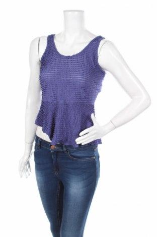Γυναικείο αμάνικο μπλουζάκι Jessica Simpson, Μέγεθος S, Χρώμα Βιολετί, 98% πολυεστέρας, 2% ελαστάνη, Τιμή 2,32€