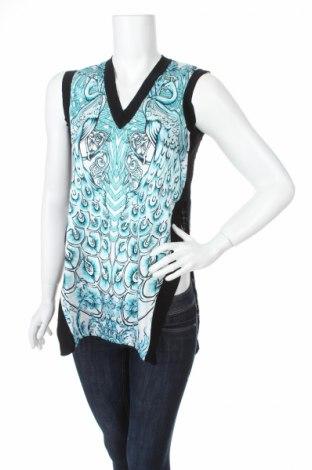 Γυναικείο αμάνικο μπλουζάκι Just Cavalli, Μέγεθος XXS, Χρώμα Πολύχρωμο, 100% βαμβάκι, Τιμή 81,40€
