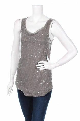 Γυναικείο αμάνικο μπλουζάκι Mossimo, Μέγεθος S, Χρώμα Γκρί, Βισκόζη, Τιμή 2,78€