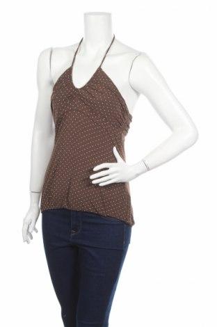 Γυναικείο αμάνικο μπλουζάκι Nuna Lie, Μέγεθος M, Χρώμα Καφέ, Τιμή 2,71€
