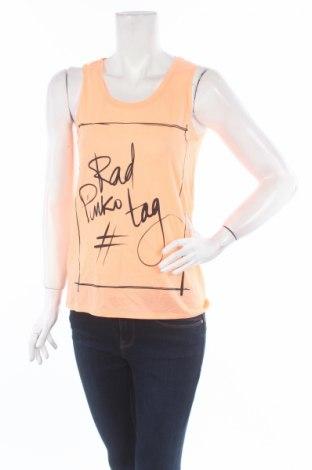 Γυναικείο αμάνικο μπλουζάκι Pinko Tag