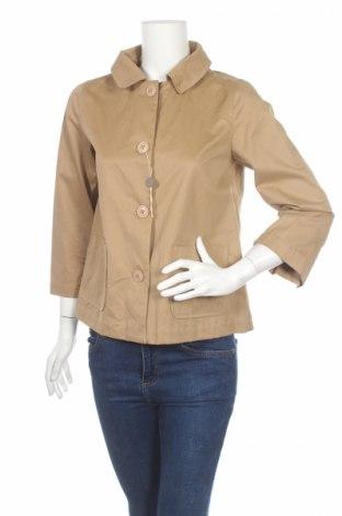 Дамско палто 313 Tre Uno Tre, Размер S, Цвят Бежов, Памук, Цена 48,60лв.