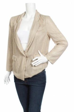 Γυναικείο σακάκι New York Industrie, Μέγεθος XL, Χρώμα Χρυσαφί, Πολυεστέρας, Τιμή 43,69€