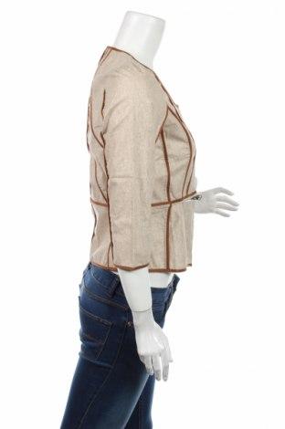 Дамско яке Numph, Размер M, Цвят Бежов, 55% лен, 45% памук, Цена 25,48лв.