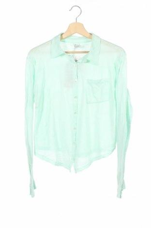 Детска риза Morley, Размер 13-14y/ 164-168 см, Цвят Зелен, Памук, Цена 15,18лв.