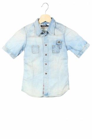 Detská košeľa  Scotch & Soda, Veľkosť 4-5y/ 110-116 cm, Farba Modrá, Bavlna, Cena  12,99€