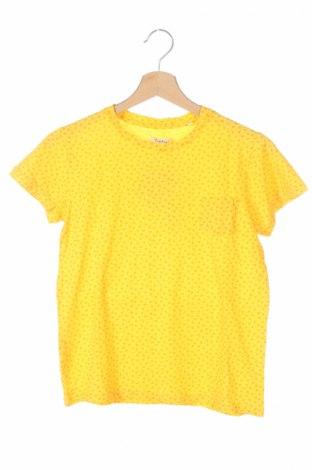 Детска тениска Nupkeet, Размер 11-12y/ 152-158 см, Цвят Жълт, Памук, Цена 21,60лв.