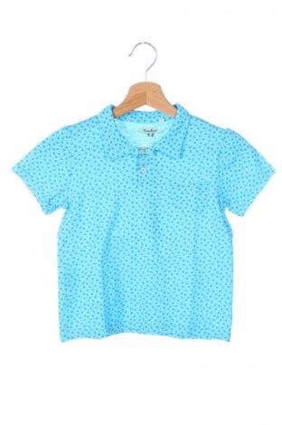 Детска тениска Nupkeet, Размер 5-6y/ 116-122 см, Цвят Син, Памук, Цена 13,65лв.