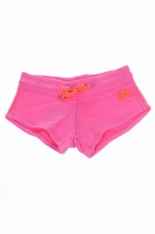 Pantaloni scurți de copii Sundek, Mărime 7-8y/ 128-134 cm, Culoare Roz, 100% bumbac, Preț 41,48 Lei