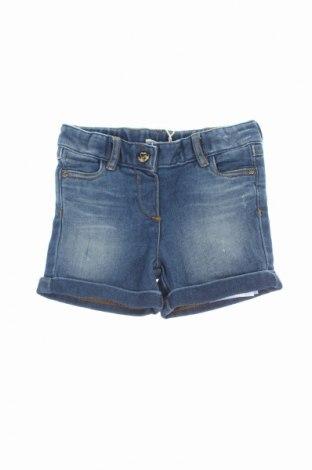 Detské krátke nohavice  Twin-Set Simona Barbieri, Veľkosť 3-6m/ 62-68 cm, Farba Modrá, 85% bavlna, 13% polyester, 2% elastan, Cena  12,33€