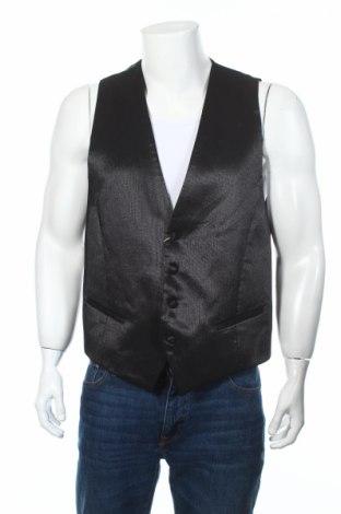 Pánská vesta  Carlo Pignatelli, Rozměr L, Barva Černá, Acetát , polyester, vlna, viskóza, Cena  1685,00Kč