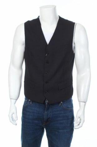 Pánská vesta  Massimo Rebecchi, Rozměr L, Barva Modrá, 78% vlna, 20% polyester, 2% elastan, Cena  957,00Kč