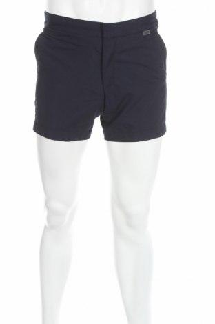 Férfi rövidnadrág Calvin Klein, Méret S, Szín Kék, Poliészter, Ár 39088 Ft