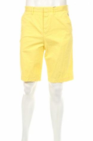 Pantaloni scurți de bărbați Kenzo, Mărime M, Culoare Galben, Bumbac, Preț 255,80 Lei