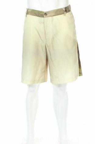 Мъжки къс панталон Maison Flaneur, Размер L, Цвят Зелен, 100% полиамид, Цена 78,25лв.