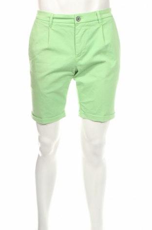 Pánske kraťasy  Re-Hash, Veľkosť M, Farba Zelená, 98% bavlna, 2% elastan, Cena  37,76€