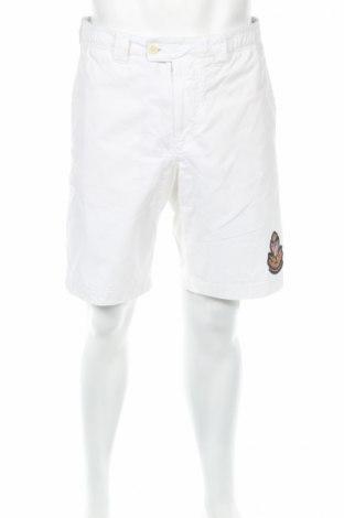 Pantaloni scurți de bărbați Polo Jeans Company by Ralph Lauren, Mărime M, Culoare Alb, Bumbac, Preț 222,22 Lei
