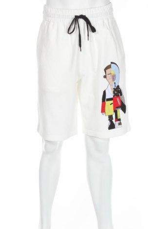 Мъжки къс панталон Ports 1961, Размер M, Цвят Бял, 100% памук, Цена 147,25лв.