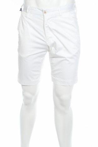 Pantaloni scurți de bărbați Reitmans, Mărime M, Culoare Alb, 97% bumbac, 3% elastan, Preț 130,37 Lei