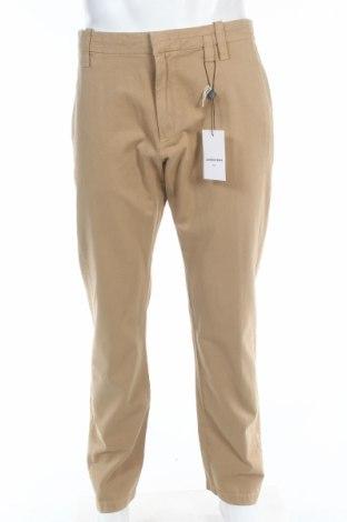 Мъжки панталон Laurence Bras, Размер L, Цвят Бежов, 100% памук, Цена 388,50лв.