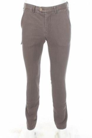 Pánske nohavice  Massimo Rebecchi, Veľkosť S, Farba Hnedá, 73% bavlna, 27% ľan, Cena  35,31€