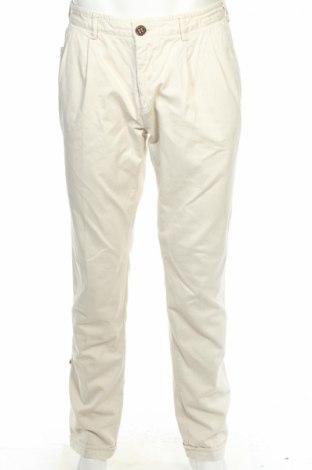 Мъжки панталон Project E, Размер S, Цвят Бежов, Памук, Цена 27,90лв.