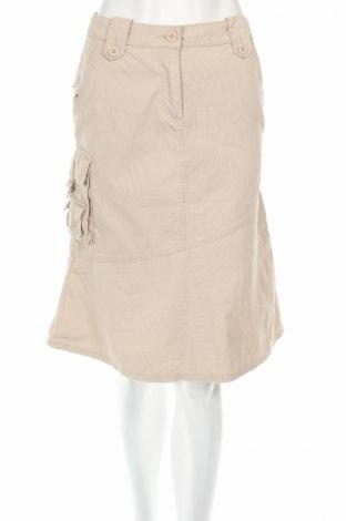 Φούστα Anson`s, Μέγεθος XS, Χρώμα  Μπέζ, 100% βαμβάκι, Τιμή 5,53€