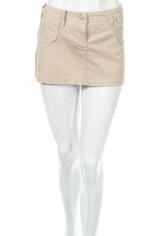 Пола Caramella, Размер M, Цвят Бежов, 97% памук, 3% еластан, Цена 10,17лв.